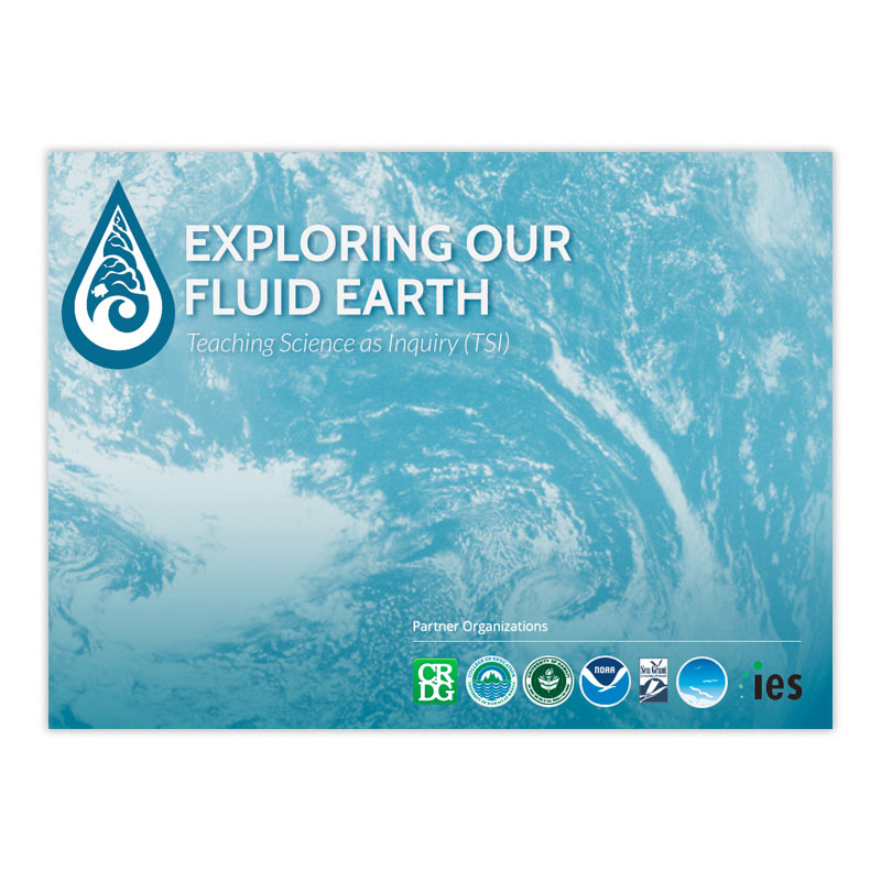 exploring our fluid earth cover graphic