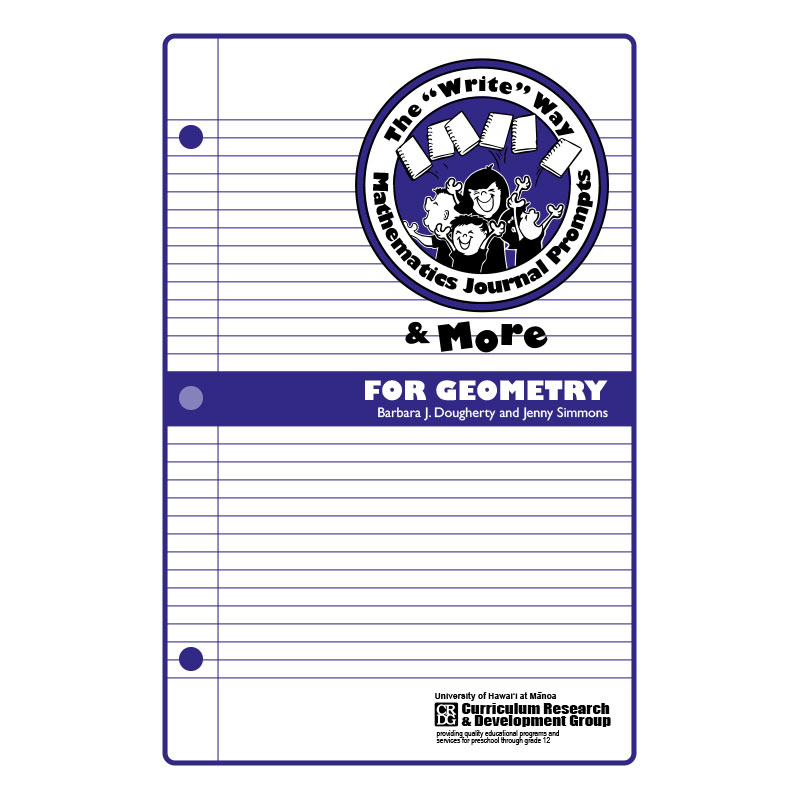 journal prompts geometry book cover